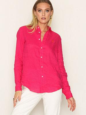 Skjortor - Polo Ralph Lauren Long Sleeve Polo Shirt Bright Pink