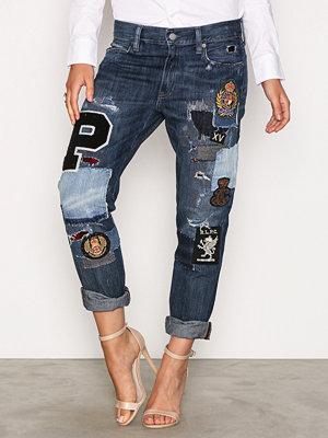 Polo Ralph Lauren Astor Slim Fit Boyfriend Denim Jeans Indigo