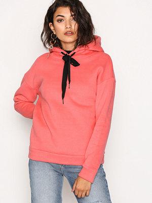 Street & luvtröjor - Glamorous Hoodie Pink