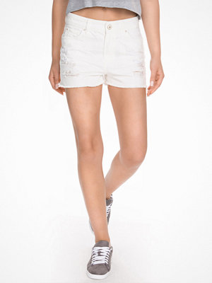 Shorts & kortbyxor - River Island White Jeans White
