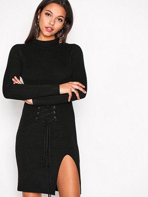 Glamorous Corset Lace Dress Black