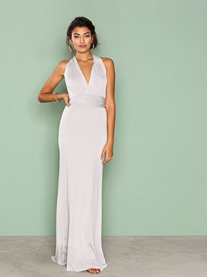 TFNC Multiway Maxi Dress Light Grey