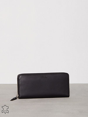 Plånböcker - Polo Ralph Lauren Zip Around Slim Wallet Svart