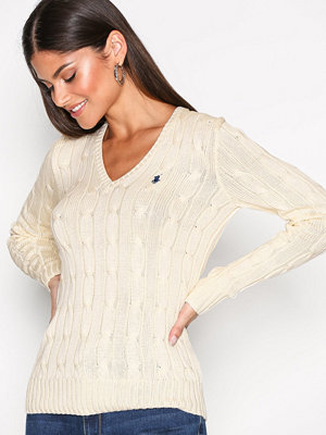 Polo Ralph Lauren Kimberly Long Sleeve Sweater Cream