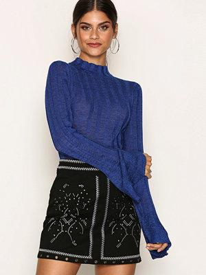 River Island Studded Mini Skirt Black