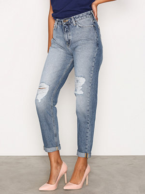 Lee Jeans Mom Straight Stone