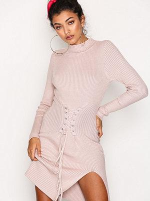 Glamorous Corset Lace Dress Pink