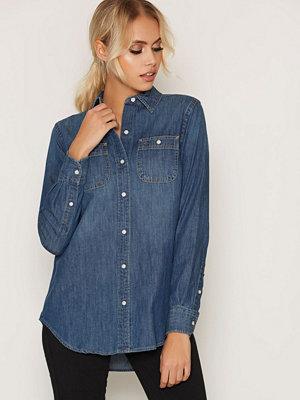 Skjortor - Lauren Ralph Lauren Alishia Longsleeve Shirt Indigo