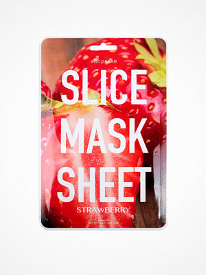 Ansikte - Kocostar Korean Slice Mask Sheet Strawberry