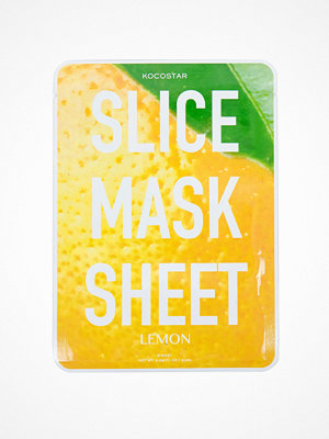 Ansikte - Kocostar Korean Slice Mask Sheet Lemon