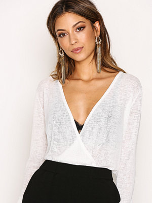 NLY Trend Dried Up Wrap Top Vit