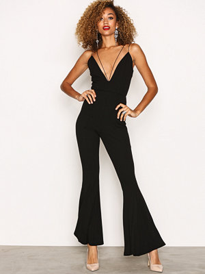Jumpsuits & playsuits - Missguided Flare Tailoured Jumpsuit Black