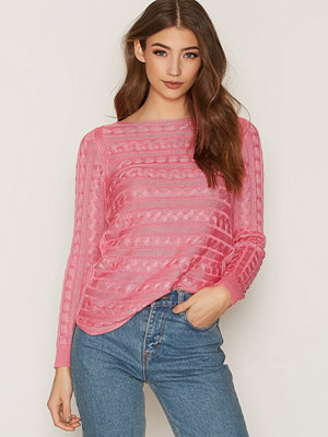 Lauren Ralph Lauren Batell Boatneck Sweater Rose