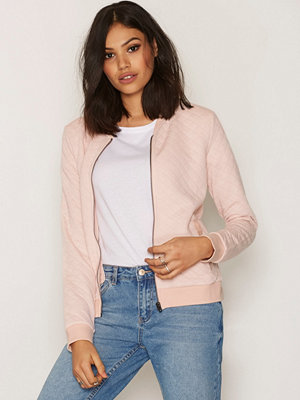 Only onlJOYCE Ls Bomber Noos Ljus Rosa