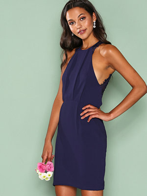 NLY Trend Crepe Lace Dress Navy
