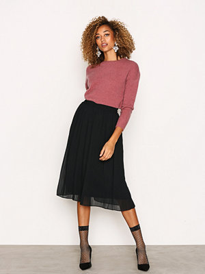 Vero Moda Vmpleta H/W Calf Skirt D2-5 Svart
