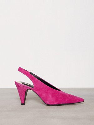 Pumps & klackskor - River Island Deep V Court Sneaker Pink
