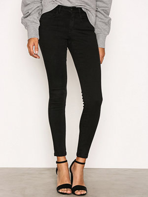 Jeans - Only onlROYAL Deluxe R Black Jea PIM700 Svart