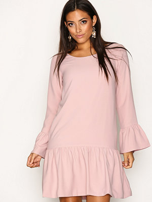 Dry Lake Magic Frill Dress Light Pink