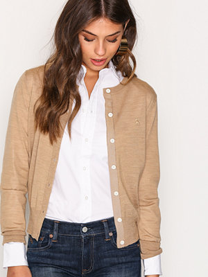 Cardigans - Polo Ralph Lauren Cardigan Long Sleeve Camel