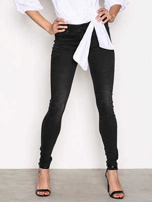 Jeans - Vila Vicommit Rw Slim Grey-Noos Grå