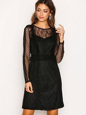 Pieces Pclei Ls Dress D2D Svart