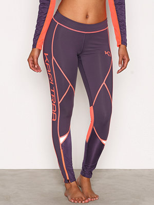 Sportkläder - Kari Traa Louise Tights Mauve
