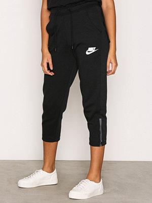 Byxor - Nike NSW AV15 Pant Snkr Svart/Vit