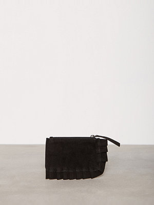 Plånböcker - Vero Moda Vmjoline Ruffle Suede Purse Svart