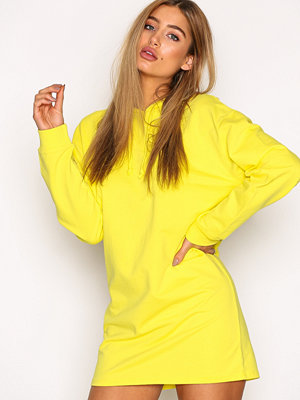NLY Trend Open Back Hoodie Neon Yellow