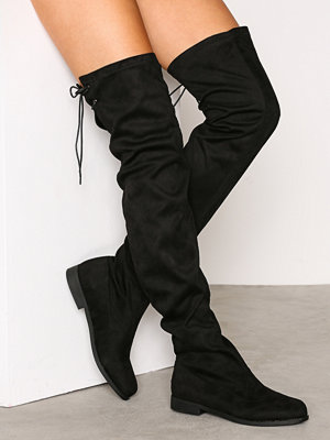 Duffy High Over Knee Boot Svart