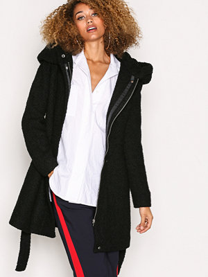 Kappor - Vila Vicama New Wool Coat-Noos Black