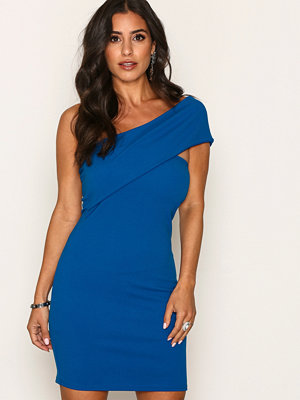 Festklänningar - Missguided One Shoulder Dress Blue