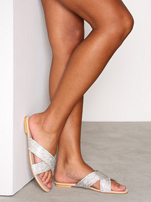 Sandaler & sandaletter - NLY Shoes Glitter Sandal Glitter