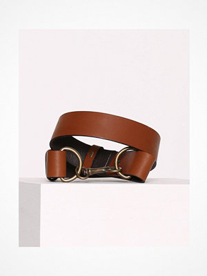 Vero Moda Vmjane Leather Waist Belt Ljus Brun