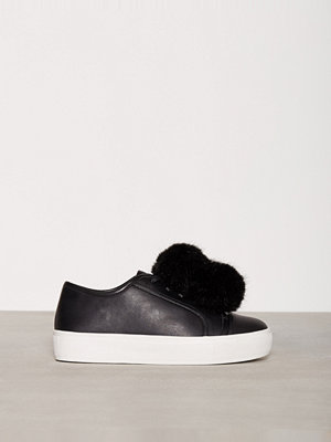 NLY Shoes Fuzzy Sneaker Svart