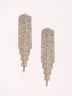 New Look Arrow Tassel Earring Crystal