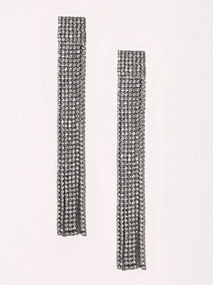 New Look Statement Tassle Earring Crystal