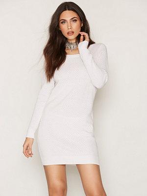 Jacqueline de Yong Jdysarasota L/S Dress Knt Vit