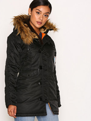 Alpha Industries N-3 B Vf 59 Wmn Black