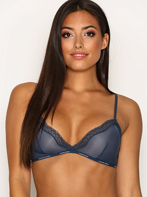 Calvin Klein Underwear Triangle Unlined Blå