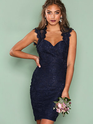 NLY One Bombshell Lace Dress Navy