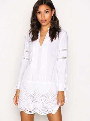 Tunikor - New Look V Neck Cotton Tunic White