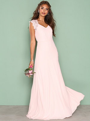 NLY Eve Forever Gown Ljus Rosa