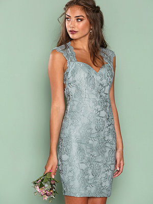 NLY One Bombshell Lace Dress Ljus Grön