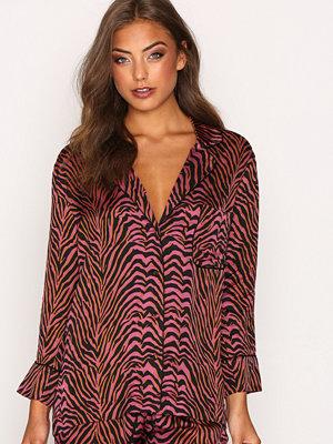 Pyjamas & myskläder - Love Stories Jude L Coverup Top Zebra