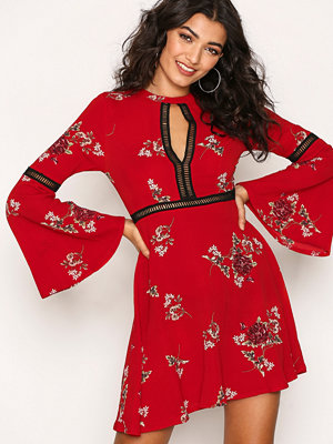 Kiss The Sky East Meets West Dress Red