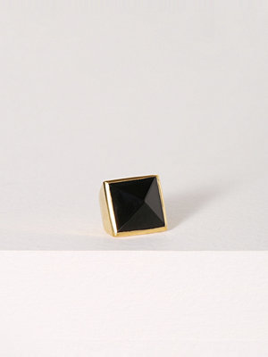 SOPHIE By SOPHIE Pyramid stone ring Gold