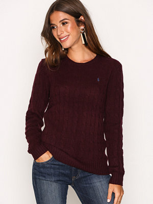 Polo Ralph Lauren Julianna Wool Sweater Wine