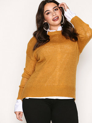 New Look Longline Jumper Yellow